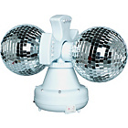more details on Twin Rotating Double Disco Ball Lamp.