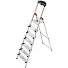 more details on Hailo 7 Tread Stepladder XXL 150kg.