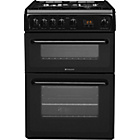 more details on Hotpoint HAG60K Double Gas Cooker - Instal/Del/Rec.