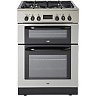 more details on Bush BUDFD60SS Double Dual Fuel Cooker - S Steel/Exp.Del.