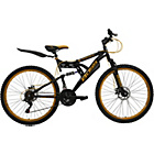 more details on Boss Blackgold 26 Inch Steel FS Mountain Bike - Men's.