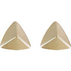 more details on 9ct Gold Pyramid Stud Earrings.