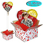 more details on One Direction Foil Balloon in a Box - Liam.