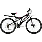 more details on Boss Stealth 26 Inch Steel FS Mountain Bike - Ladies'.