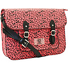 more details on Paul Frank Leopard Satchel - Fuchsia.