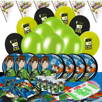 Ben 10 Ultimate Party Kit for 16