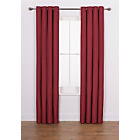 more details on Heart of House Hudson Textured Curtains 168x183cm-Cranberry.