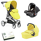 more details on Baby Elegance Beep Twist Travel System - Citrus.