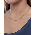 more details on 9ct Gold Round Belcher Chain - 18in.
