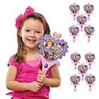 more details on Disney Sofia the First Inflate-A-Fun Balloons - Pack of 10.