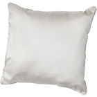 more details on Heart of House Ava Faux Silk Cushion - Cream.