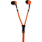 more details on Thumbs Up Zip Earphones - Orange and Black.