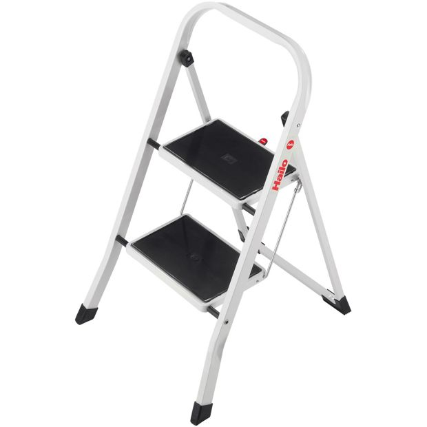 buy hailo 2 tread k20 step stool at your online shop for ladders and step stools. Black Bedroom Furniture Sets. Home Design Ideas