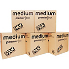 more details on StorePak Heavy Duty Medium Cardboard Boxes - Set of 5.