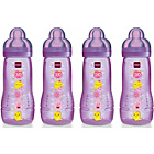 more details on MAM 330ml Baby Bottle 4 Pack - Pink.