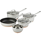 Buy Tefal Non Stick Aluminium 5 Piece Induction Pan Set At