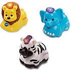 more details on VTech Toot-Toot Set of 3 Animals - Elephant, Zebra & Lion.