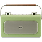 more details on Bush Leather DAB/FM Radio - Pistachio.