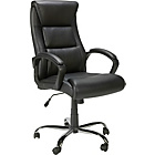 more details on Landon Gas Lift Leather/Leather Effect Office Chair - Black.