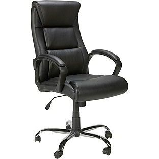 Landon Gas Lift Leather Office Chair