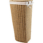 more details on Corner Linen Bin - Seagrass.