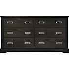 more details on Mendoza Pine 3+3 Drawer Chest - Walnut Stain.