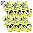 more details on SpongeBob SquarePants Pack of 12 Masks.