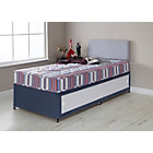 more details on Forty Winks Bibby Anti Dustmite Single Slide Store Divan Bed