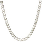 more details on Sterling Silver Diamond Cut Curb Chain.