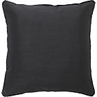 more details on Heart of House Ava Faux Silk Cushion - Black.