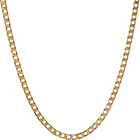 more details on 9ct Gold Square Curb Chain.