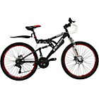 more details on Boss Dominator 26 Inch Alloy FS Mountain Bike - Men's.