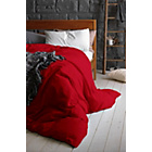 more details on Heart of House Egyptian Cotton Cranberry Fitted Sheet-Single