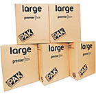 more details on StorePAK Heavy Duty Large Cardboard Storage Boxes - Set of 5