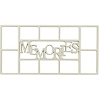 more details on Memories 10 Print Aperture Photo Frame - Cream.