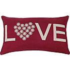 more details on Heart of House Valentine Cushion - Red.