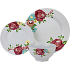 more details on Heart of House Emily 12 Piece Dinner Set - Rose.
