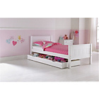 more details on Cody Storage Single Bed Frame - White.