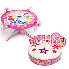 more details on Disney Princess Sparkle Cake Decorating Kit and Stand.