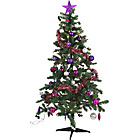 more details on Ready to Dress Festive Glamour Christmas Tree - 6ft.