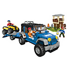 more details on Mega Bloks World Builders Jeep Forest Expedition.