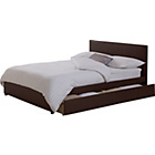 more details on Hygena Harriette Kingsize Bed Frame - Chocolate.
