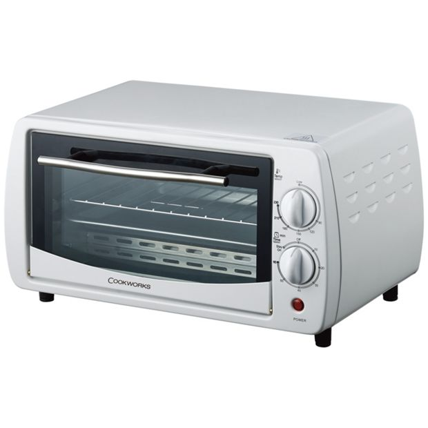 Buy Cookworks Toaster Oven White At Argos Co Uk Your