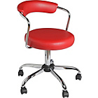 more details on Barstool Gas Lift Office Chair - Red.