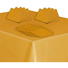 more details on Solid Colours Tableware Top-Up Kit - Gold.