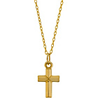 more details on 9ct Gold Plated Silver Cross Pendant.