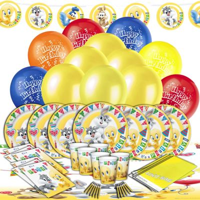 Baby Looney Tunes Ultimate Party Kit for 16