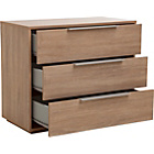 more details on Hygena Bergen 3 Drawer Chest - Oak Effect.