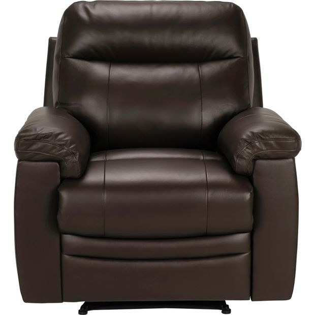 Buy Collection New Paolo Large Manual Recliner Sofa Chair