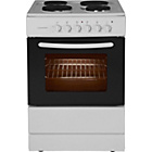 more details on Cookworks CES60W Single Electric Cooker - White/Ins/Del/Rec.